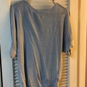 Michael kors sheer blouse